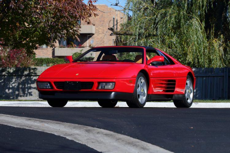 1989-93 Ferrari 348ts US-spec Pininfarina supercar 348 wallpaper
