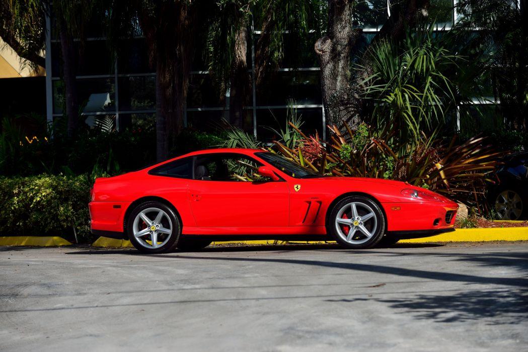 2006 Ferrari 575M Maranello US-spec Pininfarina 575 supercar wallpaper