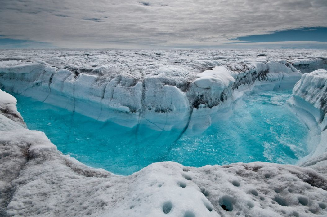 glaciar hielo agua artico naturaleza wallpaper