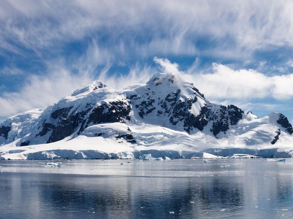 artico hielo mar naturaleza paisaje wallpaper