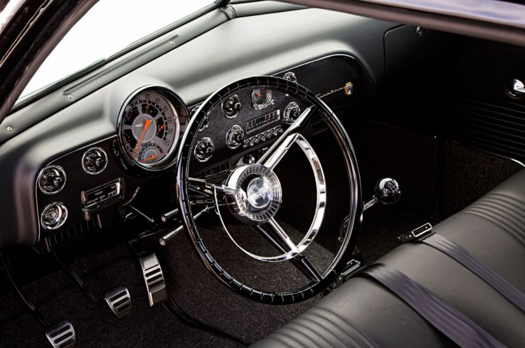 1951 Ford Club Coupe hot rod rods custom retro wallpaper