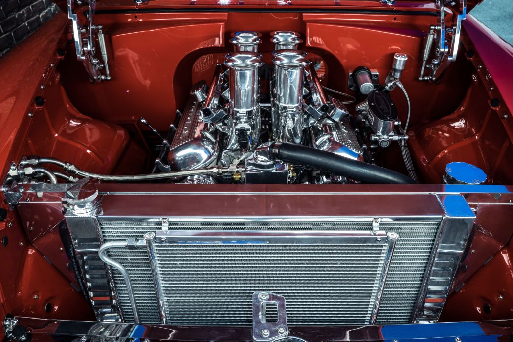 1955 Chevrolet 210 Coupe hot rod rods custom retro wallpaper