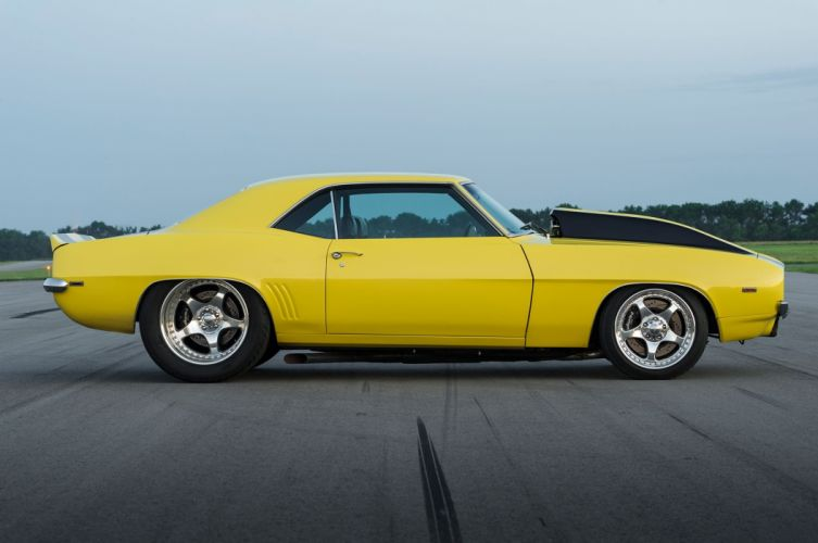 1969 Chevrolet Camaro muscle custom hot rod rods classic wallpaper