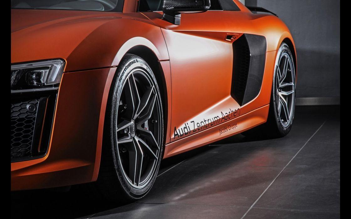 2015 HplusB-Design Audi R-8 V-10 Plus supercar wallpaper