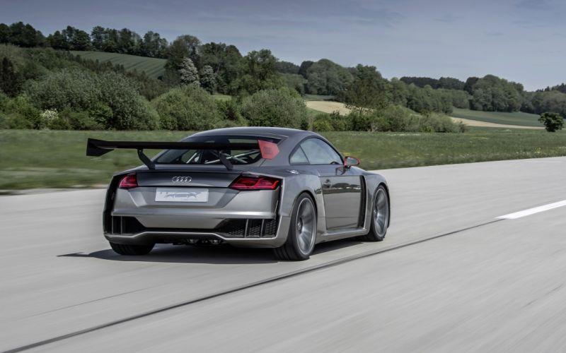 2015 Audi T-T clubsport turbo concept supercar tuning wallpaper