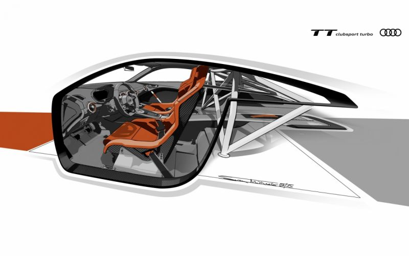 2015 Audi T-T clubsport turbo concept supercar tuning wallpaper