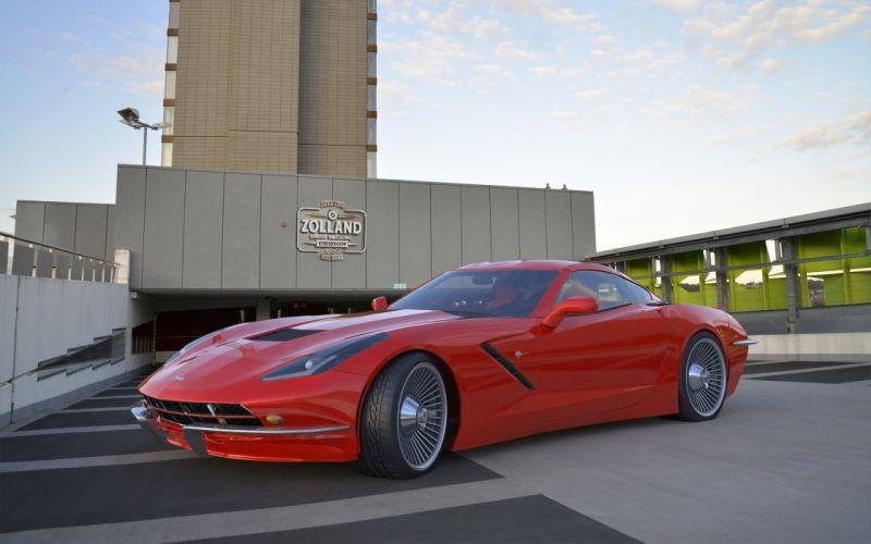 2015 Zolland-Design Chevrolet Corvette C-7 Retro tuning supercar wallpaper