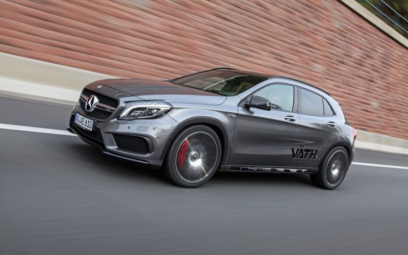 2015 Vaeth Mercedes Benz GLA45 AMG tuning suv luxury wallpaper