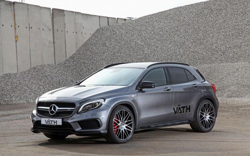 2015 Vaeth Mercedes Benz GLA45 AMG tuning suv luxury wallpaper