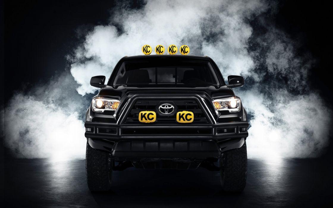 2016 Toyota Tacoma Back-to-the-Future pickup 4x4 concept back future sci-fi wallpaper