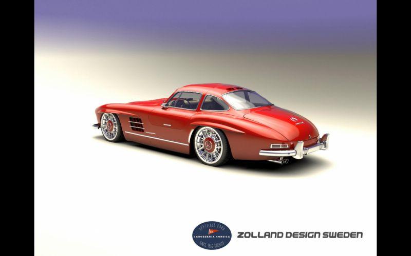 2015 Zolland-Design Mercedes Benz 300SL supercar tuning 300 wallpaper