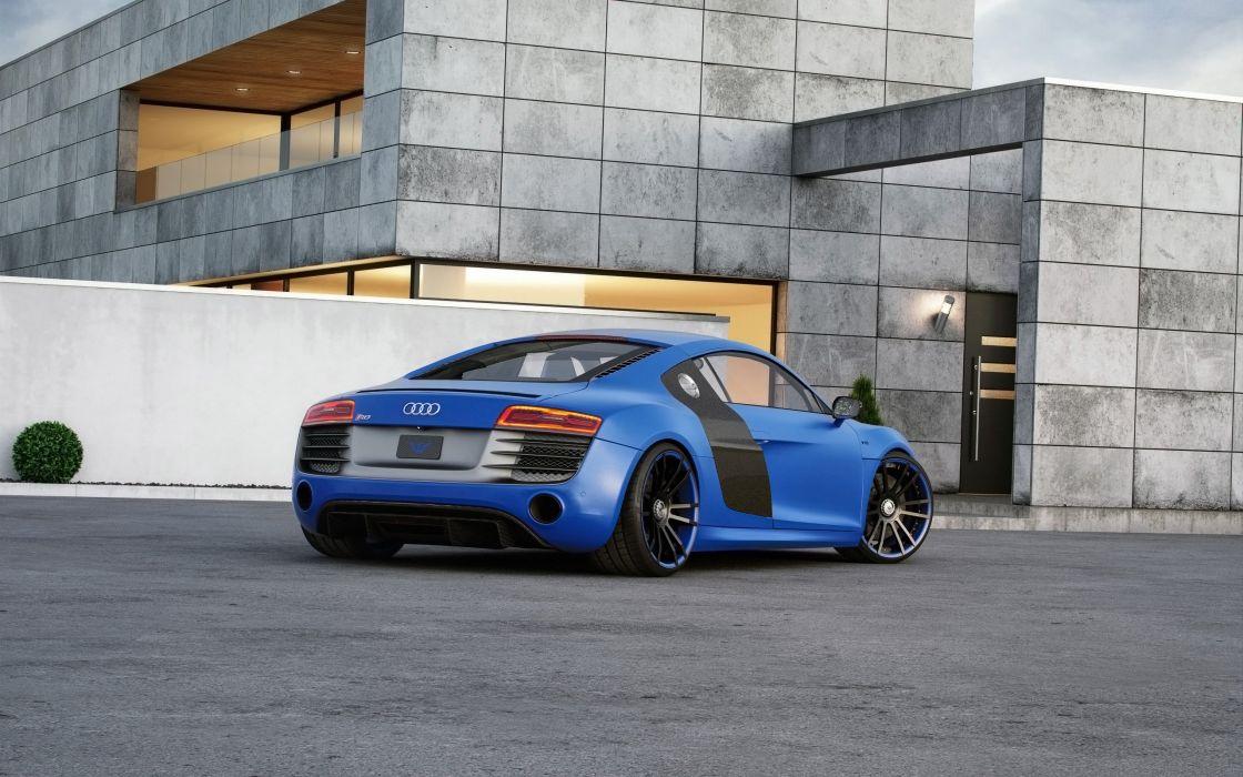 2015 Wheelsandmore Audi R-8 V10 coupe tuning wallpaper