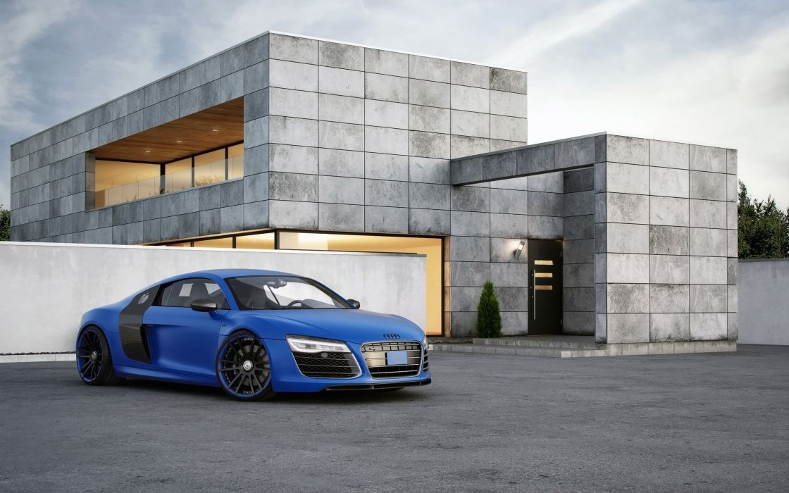 2015 Wheelsandmore Audi R-8 V10 coupe tuning wallpaper
