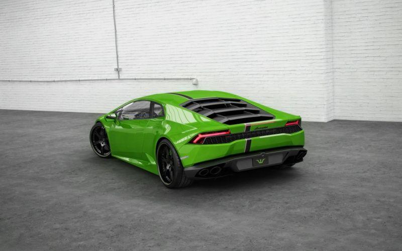2015 Wheelsandmore Lamborghini Huracan supercar tuning wallpaper