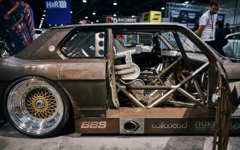 1985 HR-Springs BMW 535i Rusty Slammington tuning custom drift race racing wallpaper