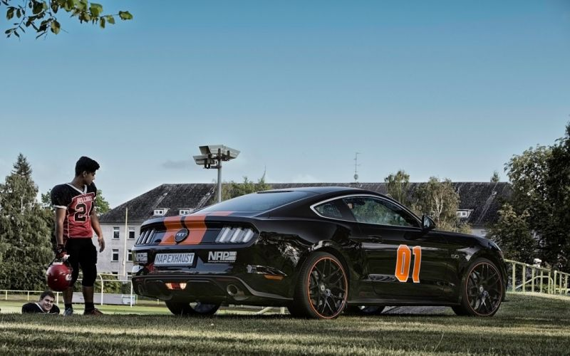 2015 NAP-Sports-Exhaust Ford Mustang 5-0 V-8 tuning muscle wallpaper