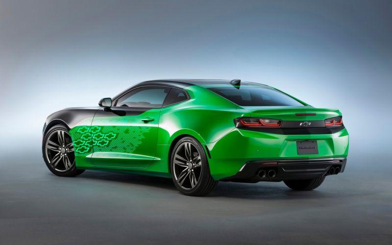 2016 Chevrolet Camaro Concept SEMA muscle wallpaper