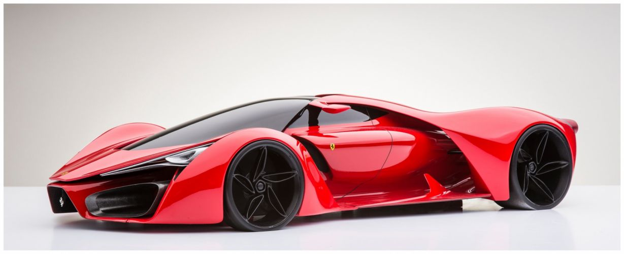 Ferrari F80 supercar concept race racing wallpaper