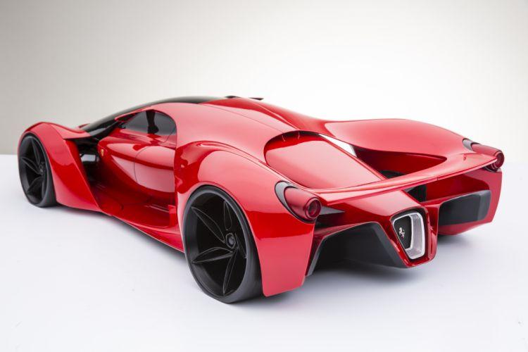 Ferrari F80 supercar concept race racing wallpaper