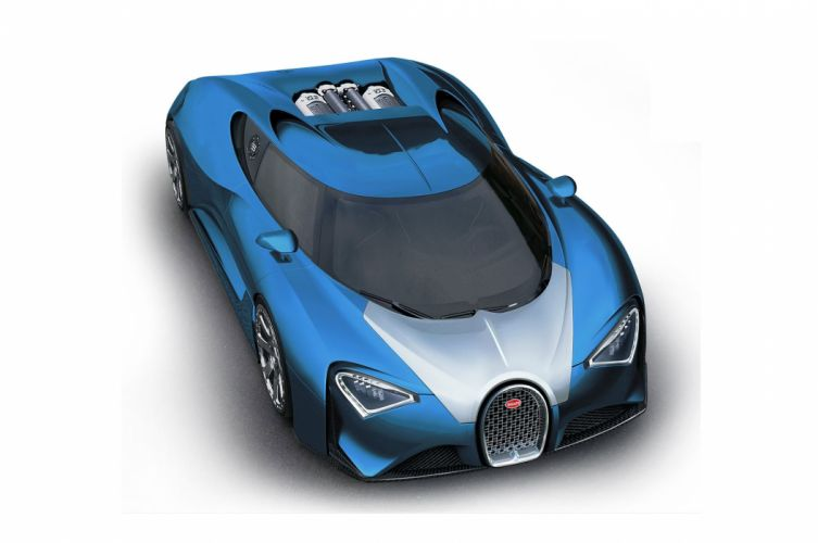2017 Bugatti Chiron supercar veyron wallpaper