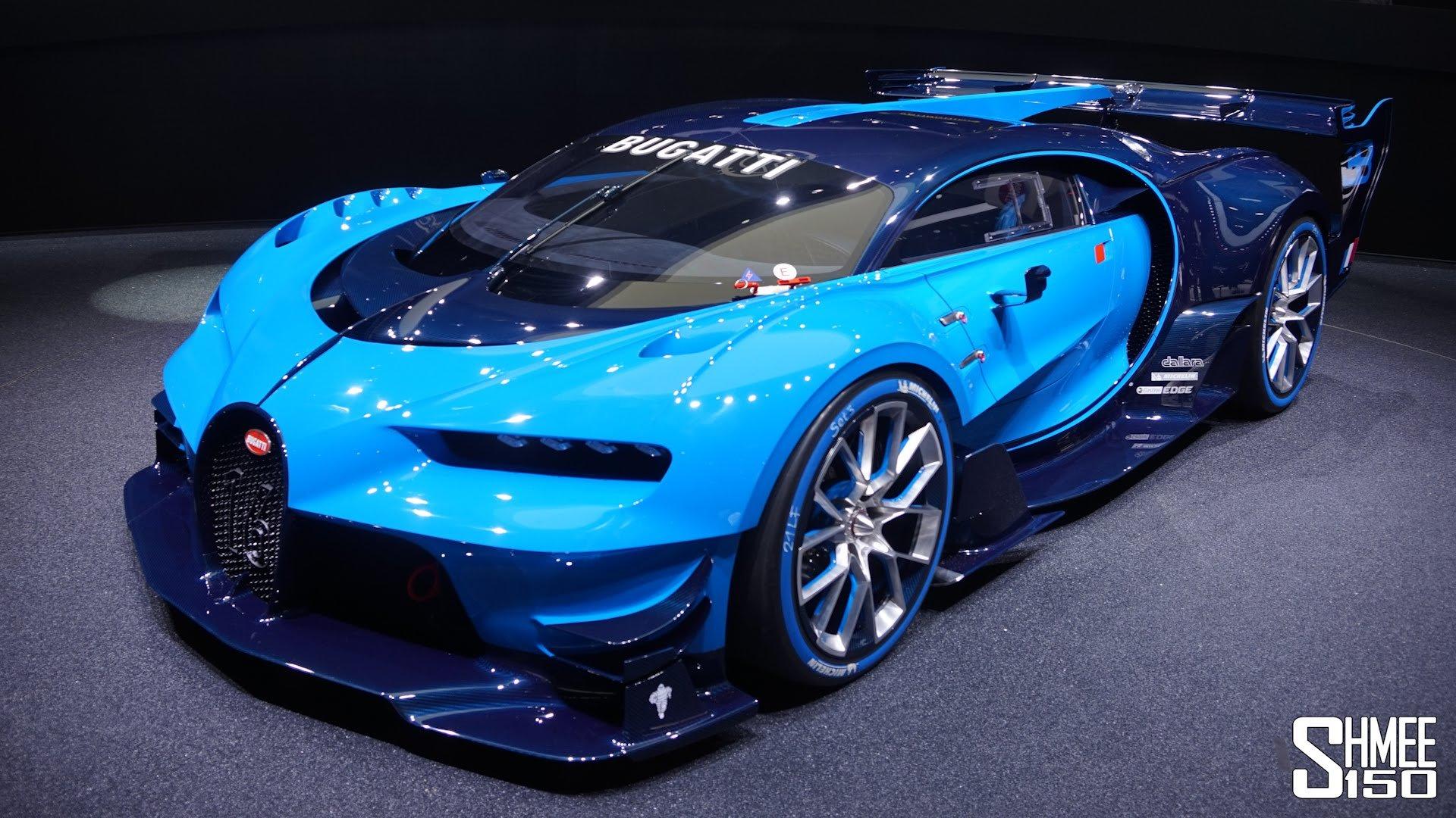 2015 Bugatti Vision Gran Turismo Supercar Concept Lemans