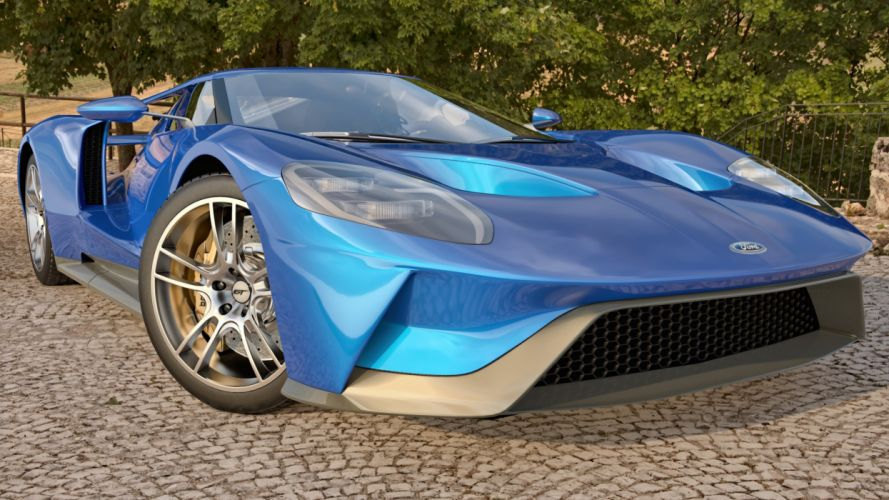 2017 Ford G-T muscle Supercar wallpaper