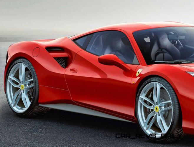 2016 Ferrari 488 supercar wallpaper