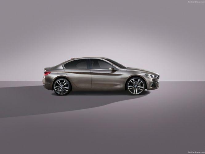 BMW Compact Sedan Concept cars 2015 wallpaper