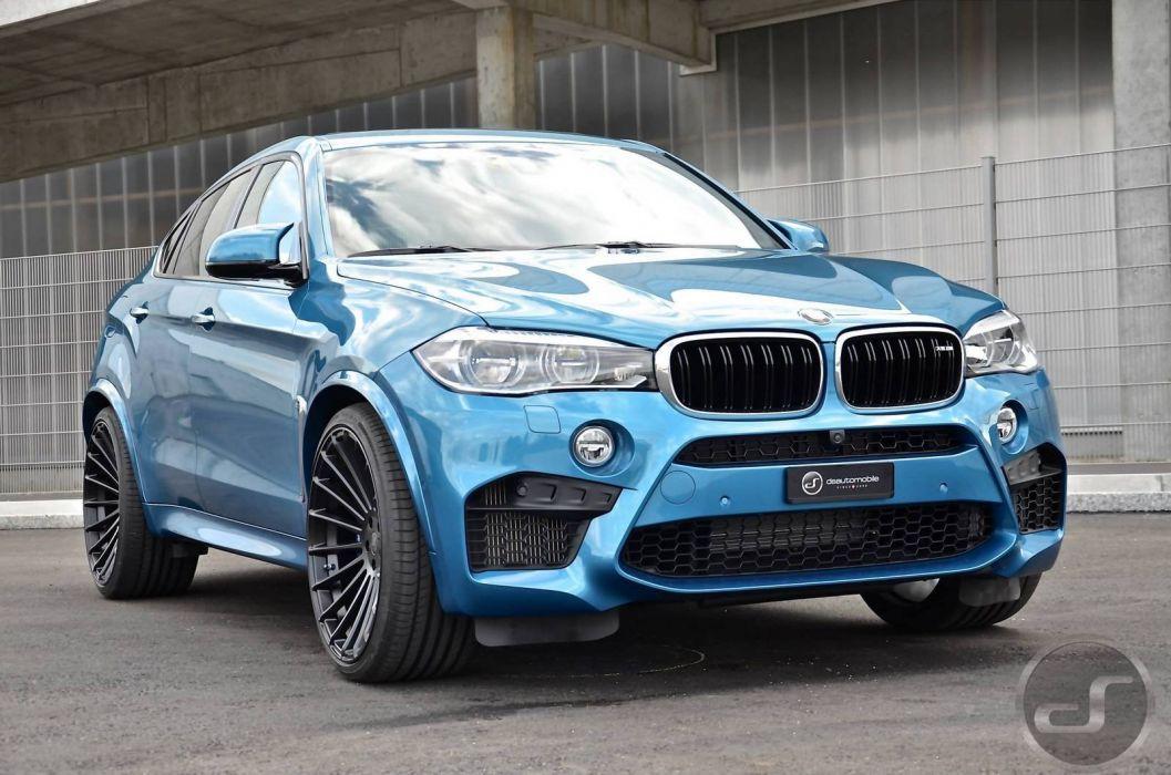 Hamann BMW-X6 M cars suv blue modified wallpaper