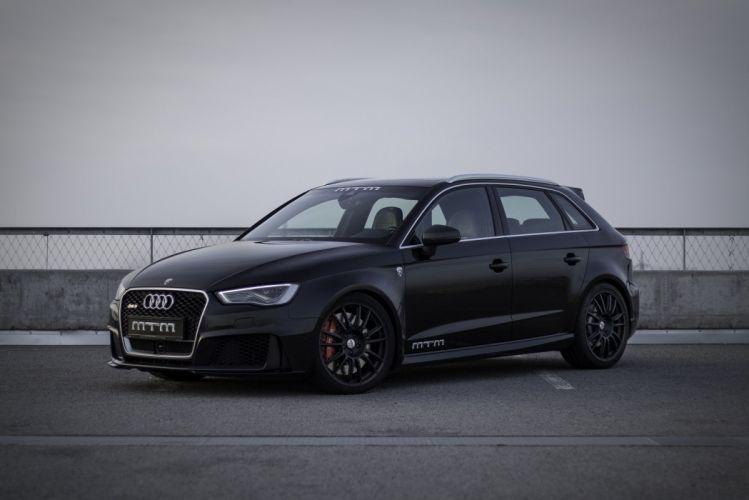 MTM Audi RS3 Sportback cars black modified wallpaper