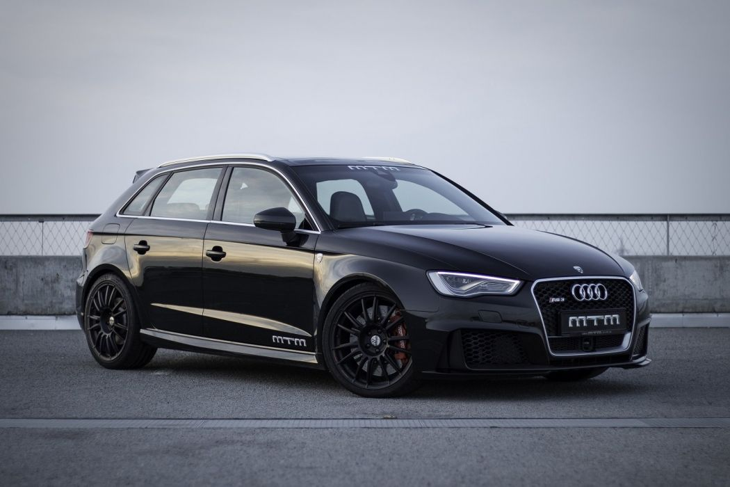 MTM Audi RS3 Sportback cars black modified wallpaper