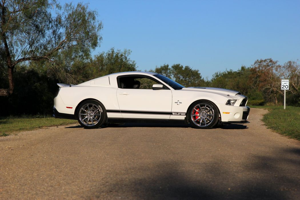 2010 Shelby Mustang Gt500 Super Snake Coupe Cars White