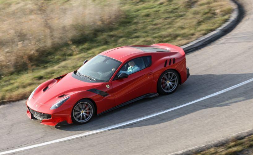 2016 cars Coupe F12tdf Ferrari red wallpaper