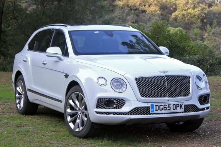 2016 Bentley Bentayga cars suv white wallpaper