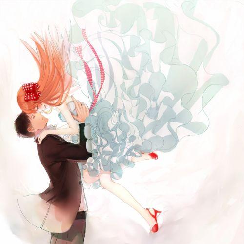 gekkan shoujo nozaki-kun sakura nozaki long hair anime series couple love cute girl guy beauty dress wallpaper