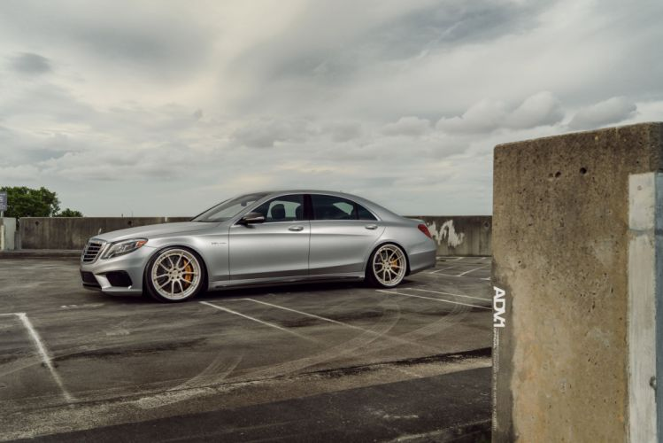ADV1 cars Coupe wheels Mercedes S63 AMG wallpaper