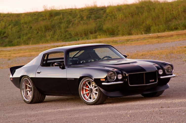 1970 Pro Touring chevy Camaro cars wallpaper
