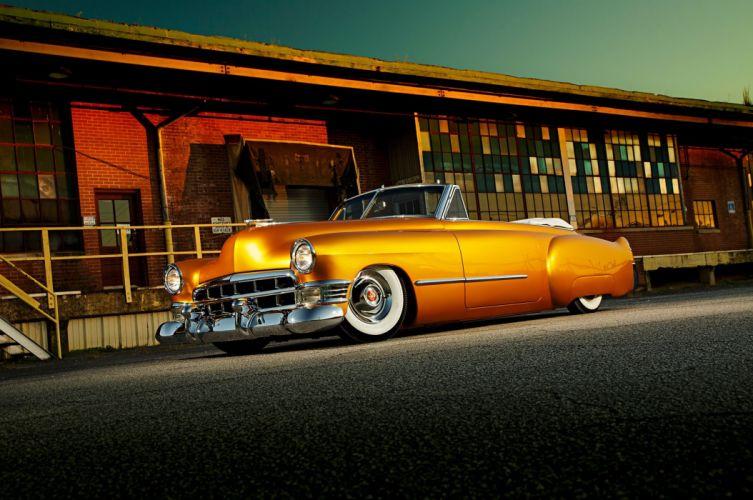 1949 Cadillac Convertible Custom cars wallpaper