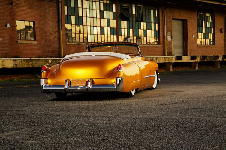 1949 Cadillac Convertible Custom cars wallpaper
