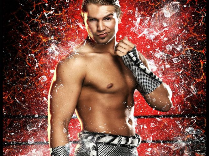 WWE wrestling fighting warrior action wallpaper