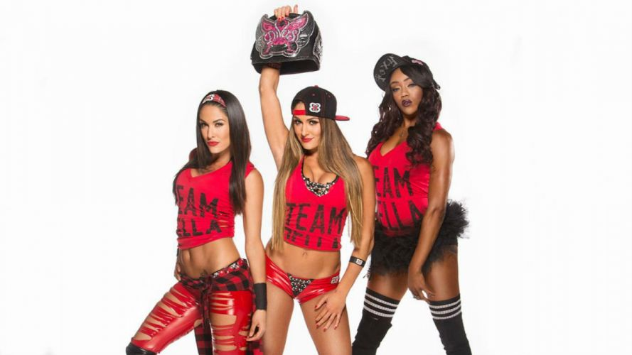 WWE DIVAS wrestling fighting warrior action sexy babe wallpaper