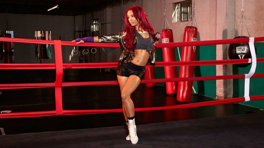 WWE DIVAS wrestling fighting warrior action sexy babe fitness boxing mma wallpaper