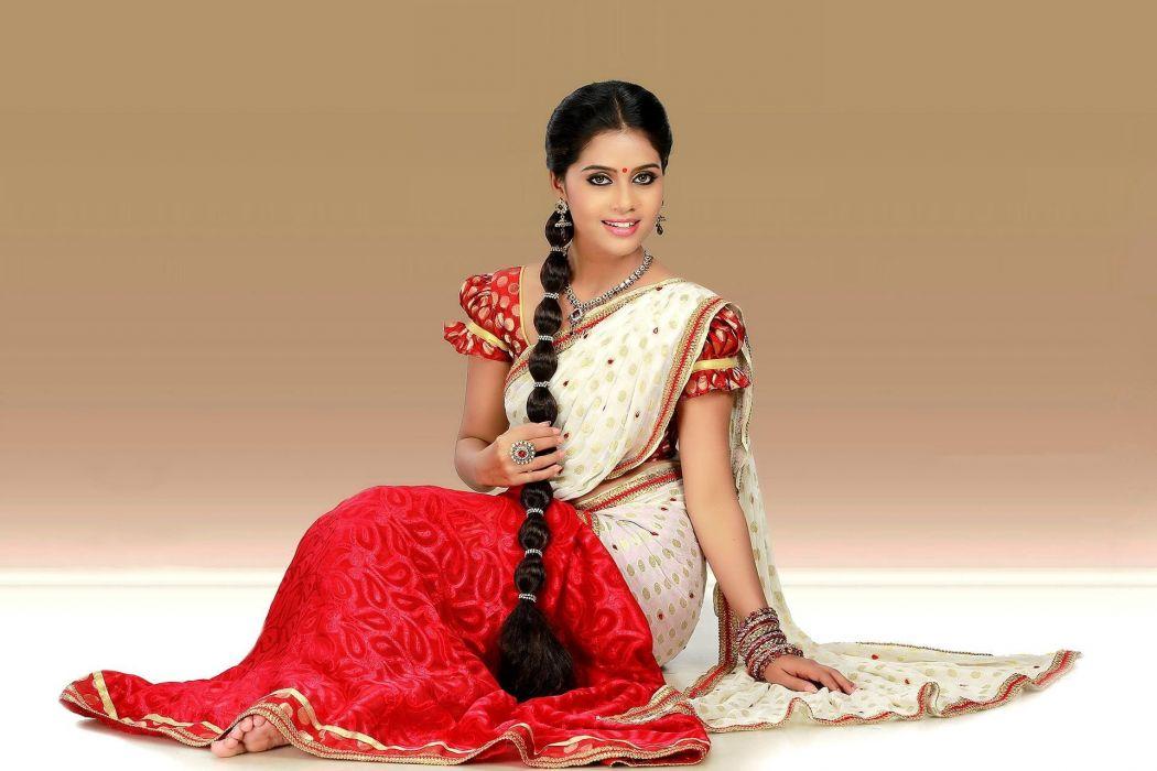 Sneha Unnikrishnan bollywood actress model girl beautiful brunette pretty cute beauty sexy hot pose face eyes hair lips smile figure indian  wallpaper