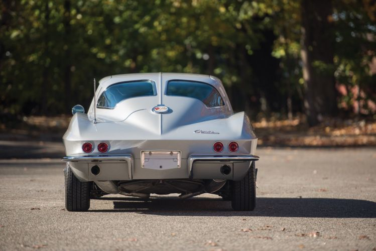 1963 Chevrolet Corvette Sting Ray L75 Sport Coupe cars silver (c2) wallpaper