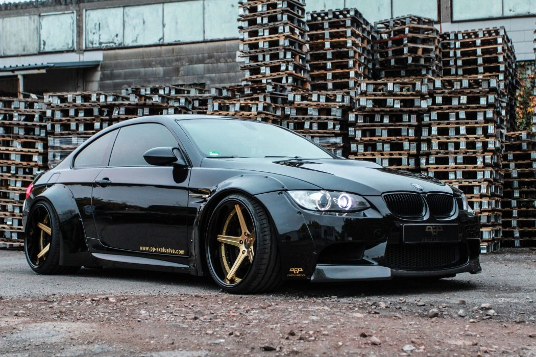 Liberty Walk Bmw M3 E92 Coupe Cars Black Tuning Wallpaper 3000x2000 843190 Wallpaperup