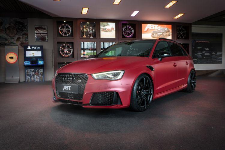 ABT sportback cars Audi RS3 Tuning wallpaper