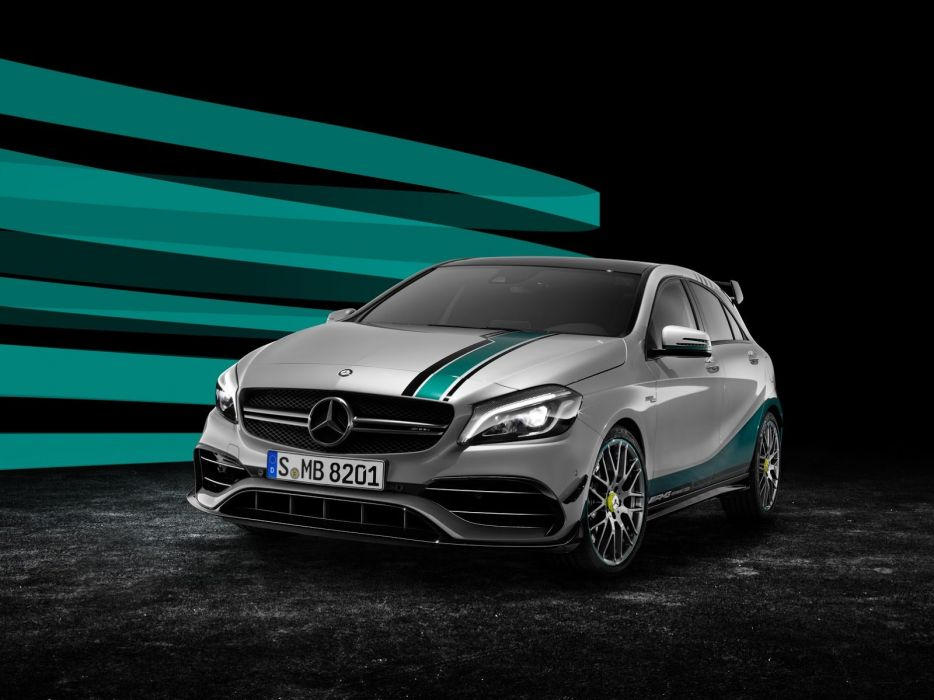 Mercedes 2015 Winning F1 title Special Edition A-45 AMG cars wallpaper