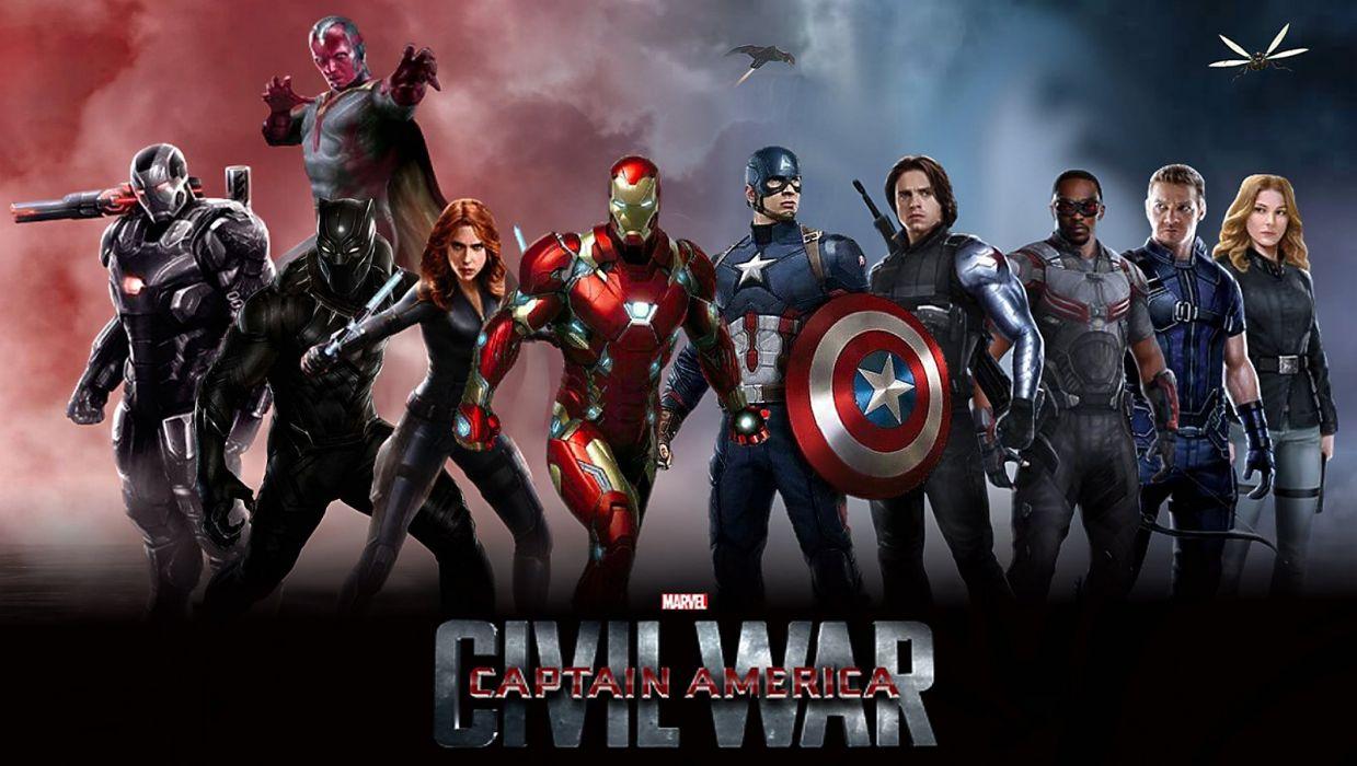 Captain America 3 Civil War Marvel Superhero Action Fighting 1cacw