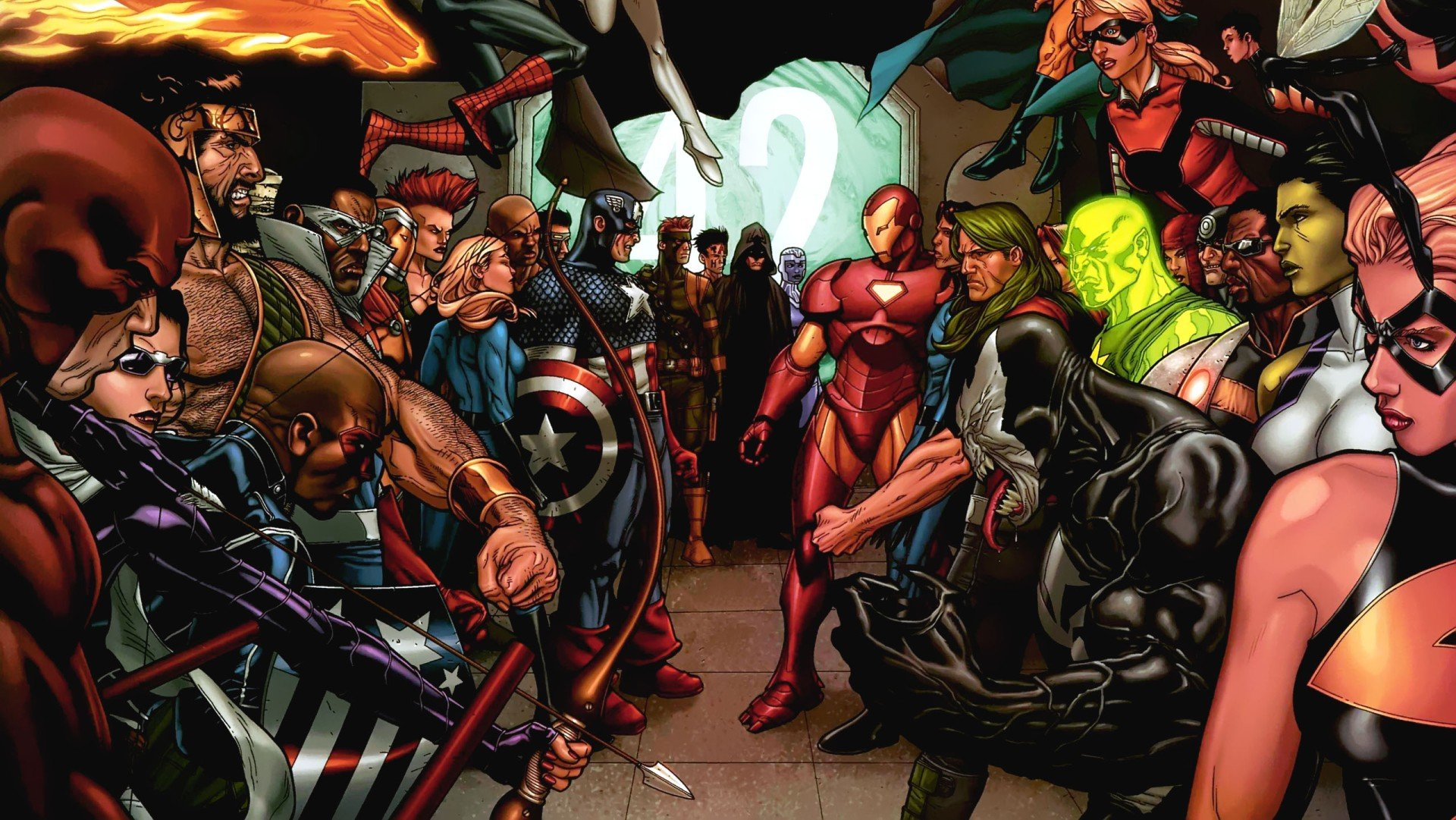 Marvel Civil War Wallpapers - CNSouP Collections