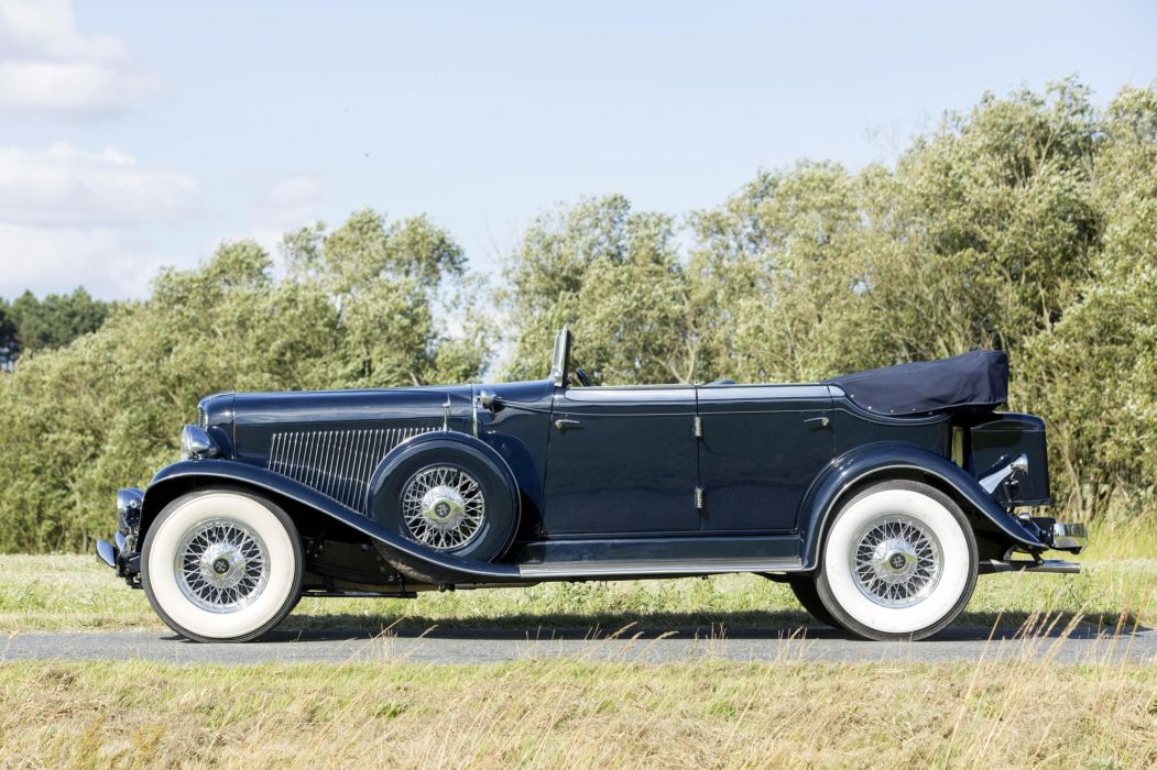 1933 Auburn V12 165 Salon Phaeton Sedan luxury retro vintage wallpaper